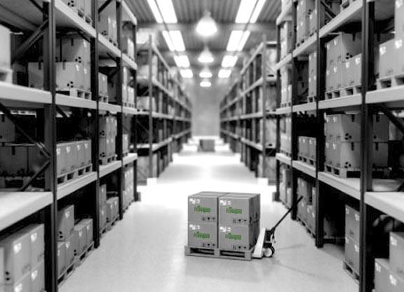 Almacén de mercancías en Logroño Transportes Navajas transportes navajas