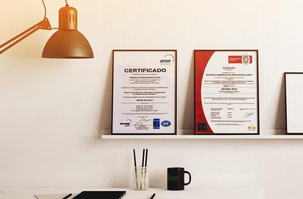 Certificados de Calidad ISO e IFS