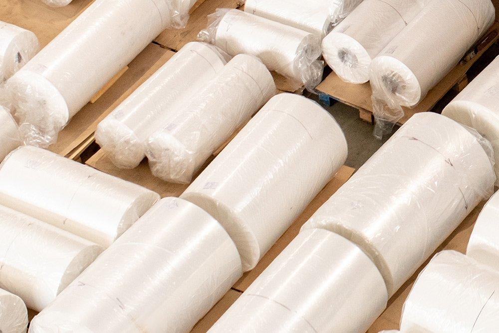 Packaging de alimentación, bobinas, film