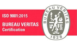 Certificado ISO 9001:2015 Transportes Navajas